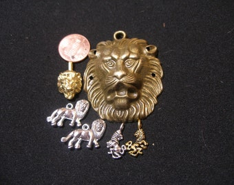 Lion  pendants, charms -- Lions of  Lannister,  Cecil the Lion, Lion King,  Wizard of Oz, King of Beasts TeamESST, Olyteam, paganteam,  WWWG