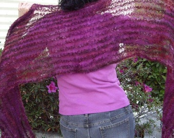 French Scarf Pattern via Download