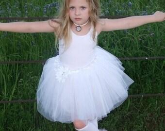 "Sweet White Bunny Legs - girls ruffled leg warmers - perfect for crawling baby 6M to girls 6X approx 12"" long"