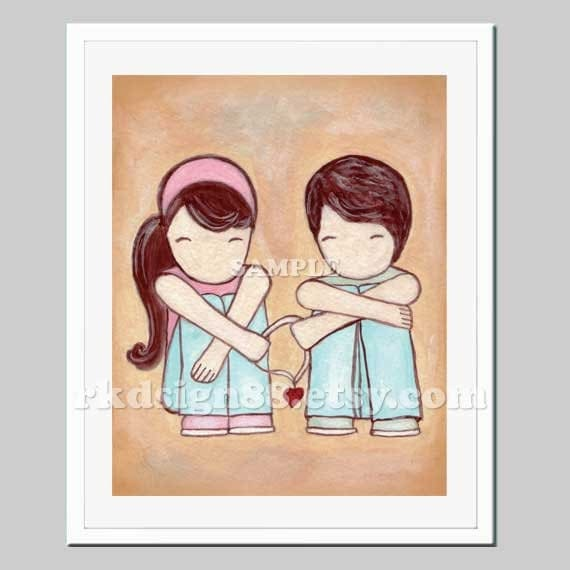 Cute Wedding Gift Ideas: Anniversary Gift Ideas Art For Wedding Gift Couple Portrait