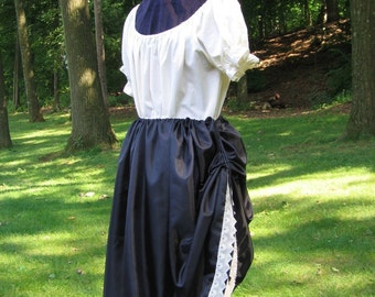 Custom made tavern wench renaissance medeival tudor skirt costume