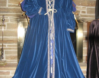 Custom made Renaissance Medieval Tudor  Pirate Wench 5 pc costume gown dress