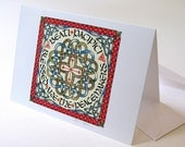 Blessed Are the Peacemakers Frame-able Note Card with FREE SHIPPING to US