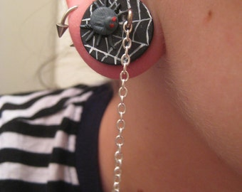 3/4inch 19mm Spider and Web Chain Resin Plug