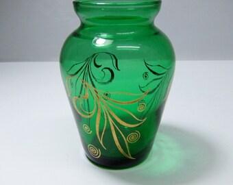 vintage Anchor Hocking bud vase