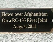 Engraved Brass Name Plate, Trophy, Awards,ID Name Tag,Name Tag,BB-1