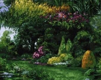 Michael Miller Park Landscape Fabric 1 yard