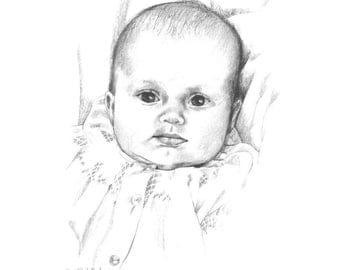 Pencil Portrait (Priced per face)
