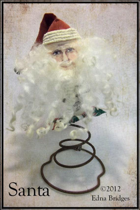 Santa MakeDo - Instant Download - PDF File EPattern