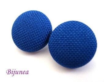 Blue earrings - Blue stud earrings - Blue studs - Blue posts - Blue post earrings sf155