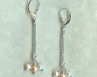518 Freshwater Pearl Earrings