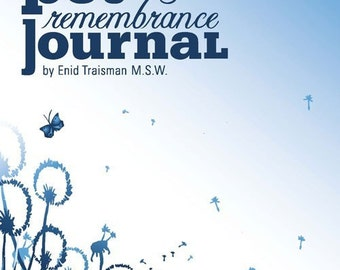 Guided Pet Remembrance Journal