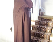 Vintage1800's Military Brown Wool Authentic civil War Cape or possibly older