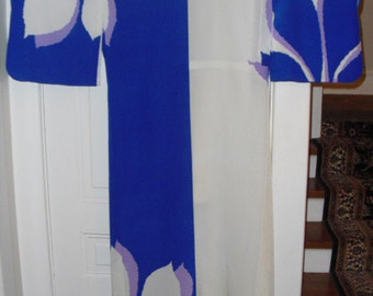 Very Rare Authentic  Art Deco 30's Kimono Mint Condition Titanic Quality