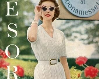 1957 Vogue Knitting Book PDF--10 Resort Wear Patterns ONLY