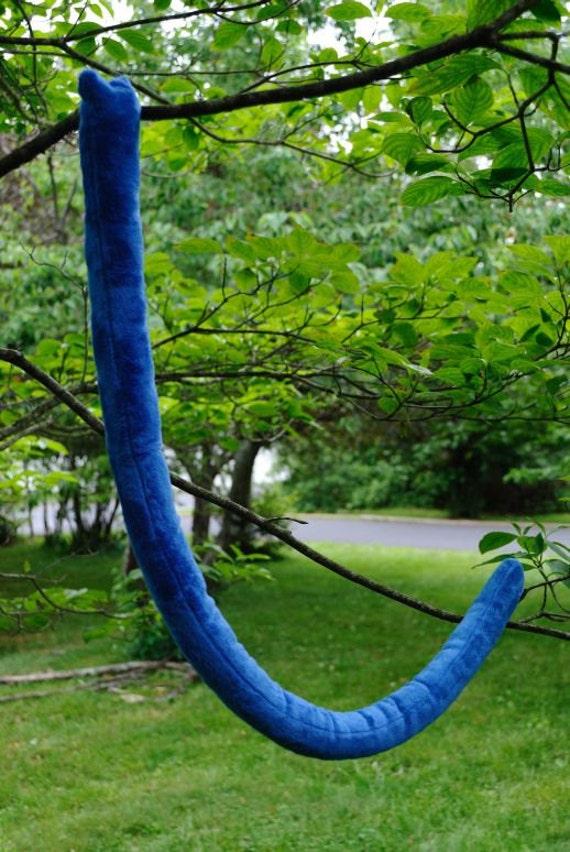 Blue Kitty Cat Tail
