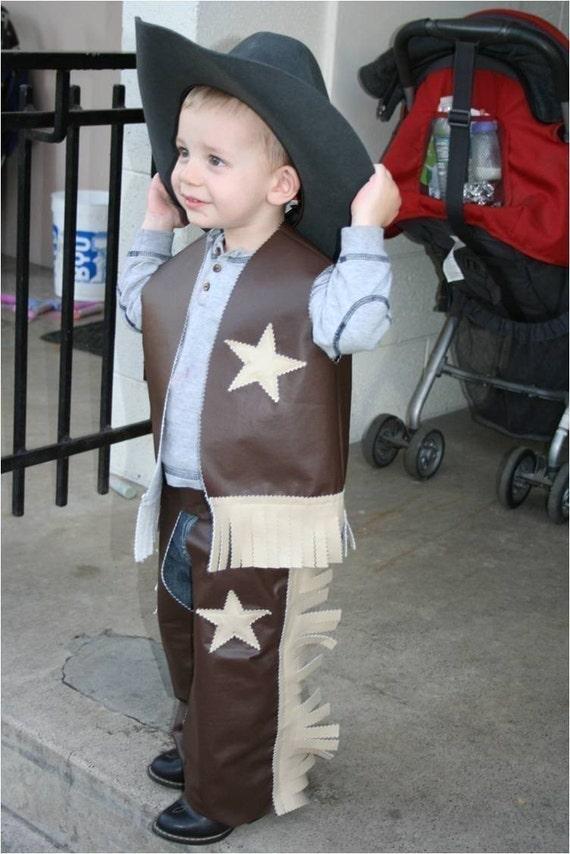 Easy Cowboy Costume Pattern