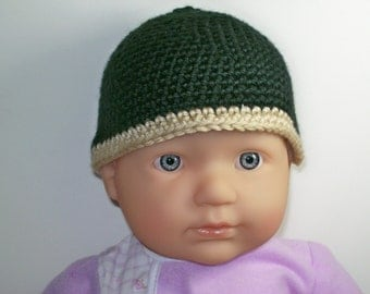 Crochet Baby Hat - Made to Match any Pair of Booties in the Shop