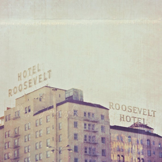 Hollywood roosevelt hotel photograph los angeles by myansoffia for Haunted hotels in los angeles ca