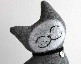 Comfort Cat - Wool Plush