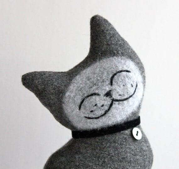 Cat Plush Folk Wool - Comfort Cat