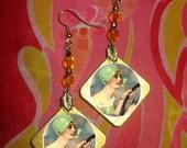 Gatsby DAISY BUCHANAN beaded earrings