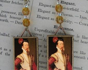Robert Dudley Earl of Leicester Earrings