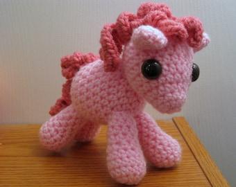 Pinkie Pie - My Little Pony Friendship is Magic Amigurumi Crocheted MLP Plush Doll