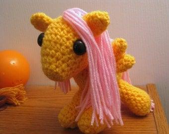 Fluttershy - My Little Pony Friendship is Magic Amigurumi Crocheted MLP Plush Doll