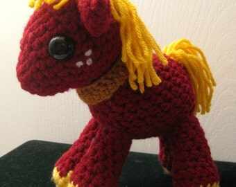 Big Macintosh - My Little Pony Friendship is Magic Amigurumi Crocheted MLP Plush Doll