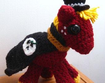 Nightmare Night Big Macintosh - My Little Pony Friendship is Magic Amigurumi Crocheted MLP Plush Doll