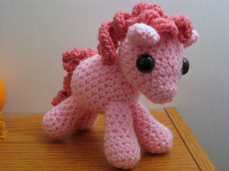 Amigurumi Magic Doll : Pinkie Pie My Little Pony Friendship is Magic Amigurumi