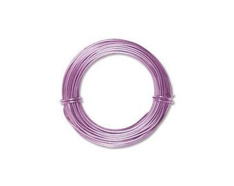 Anodized Aluminum Wire 18 Gauge Lavender 41278 , Jewelry Wire, Craft Wire, Round Wire, Aluminium Wire, Soft Temper Wire, Anodized Wire