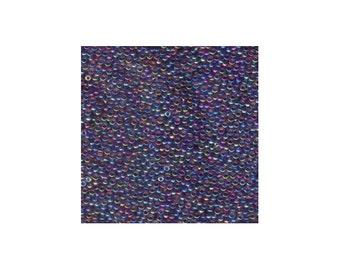 Miyuki Seed Beads 11/0 Fuchsia Lined Amethyst AB 11-356 24g Japanese Seed Beads, Color Lined Seed Bead, Glass Seed Bead, Rocaille Seed Beads