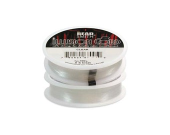 Illusion Cord Clear Monofilament .010in 50 meter Spool