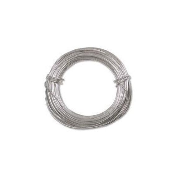 Anodized Aluminum Wire 18 Gauge Silver 41286 Jewelry Wire