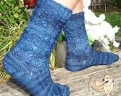 NEW Tenderfoot Toe-Up Sock Pattern