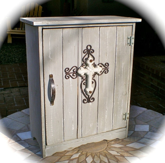 COUNTRY FRENCH Shabby Chic Storage CABINET