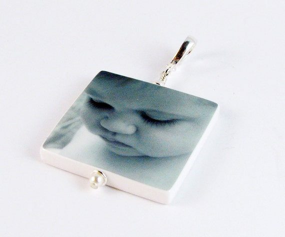 Custom, Heirloom Quality Photo Pendant - Large - P1