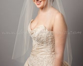 Bridal Veil Single Layer, Wedding veil, Traditional veil, Available in 30 thru 108 Inch Lengths