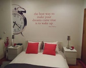 The best way to make your dreams... - Decal for housewares