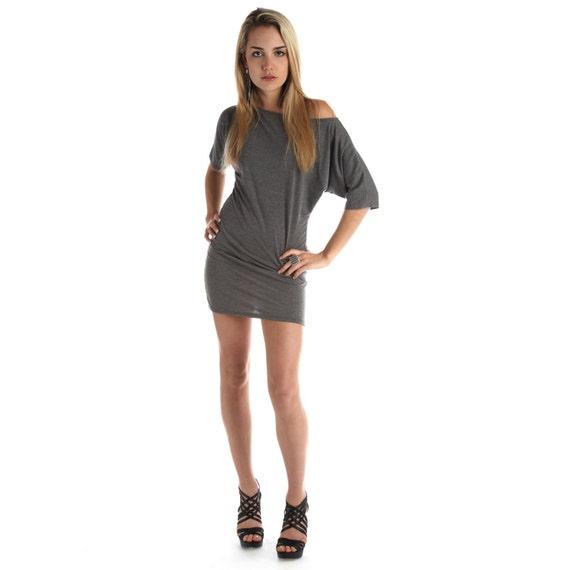 Womens Dress Off the Shoulder Signature Lamixx Grey Small Medium Large Pre Order