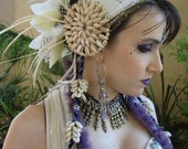 Custom OOAK Tribal Bellydance Headdress