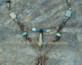 Seaside Necklace and Earring Set