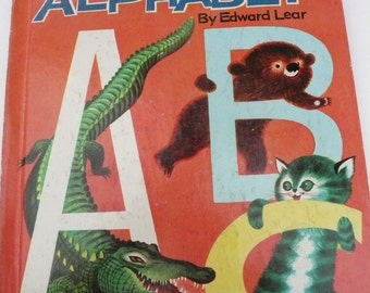 Vintage Wonder Book The Nonsense Alphabet by Edward Lear