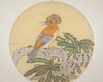 20% OFF Hoopoe Silk Painting