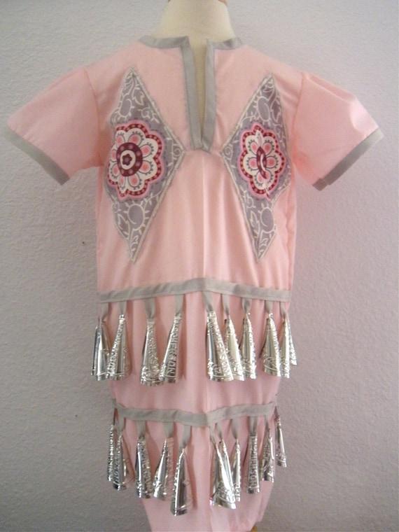 Tiny Tot Jingle Dress Pink