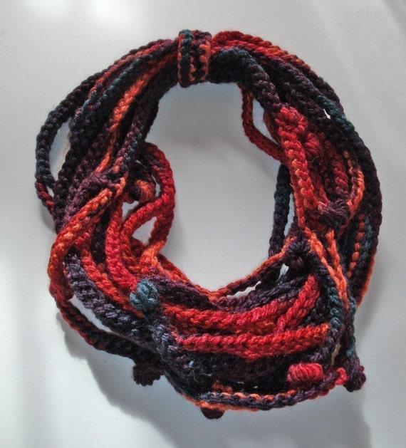 PDF pattern Crochet LAZY COWL Crochet Chain Scarf No 2