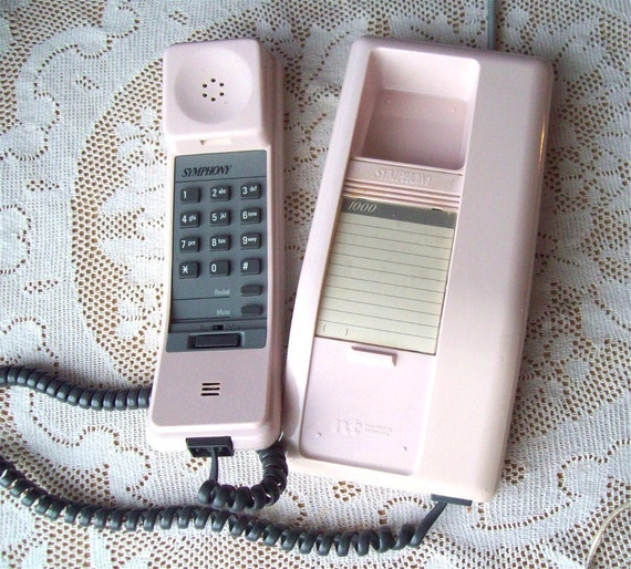 20% OFF Vintage Northern Telecom Telephone Pink Phone Symphony Wall Desk