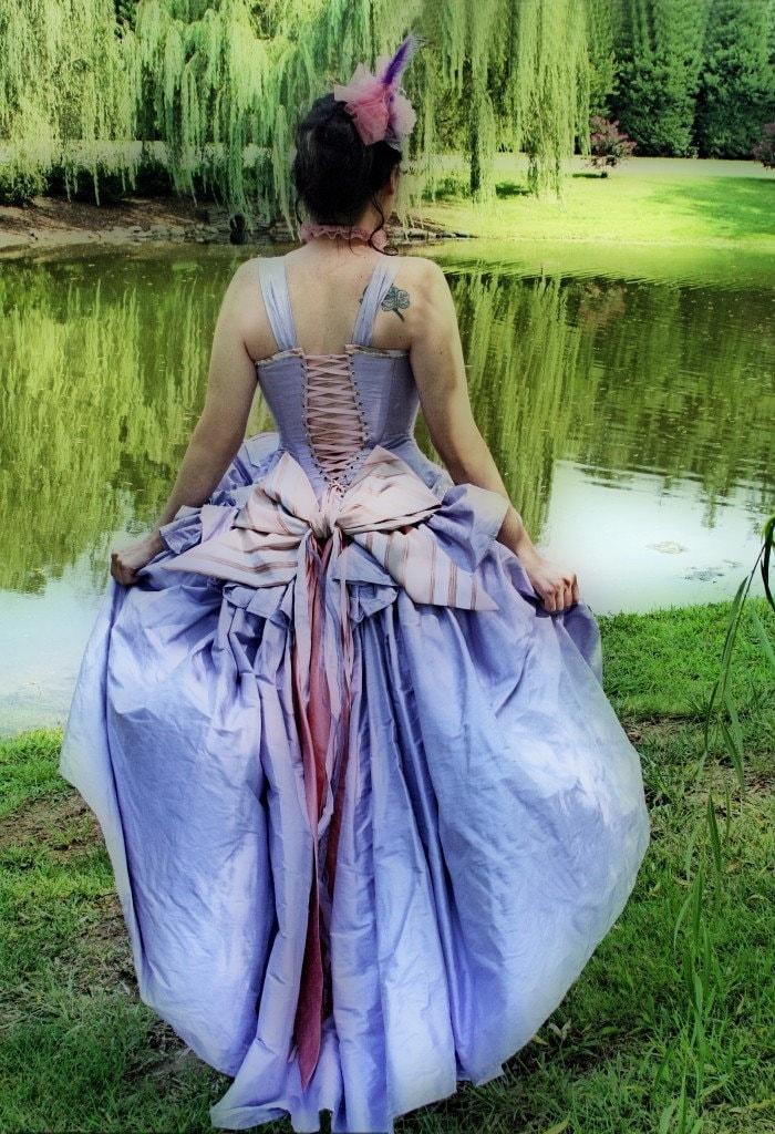 fantasy wedding dress kirsten gown steampunk victorian fairy